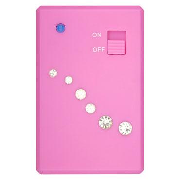 Toy Joy Crystal Mini Vibe, розовый мини вибратор на дистанционном управлении