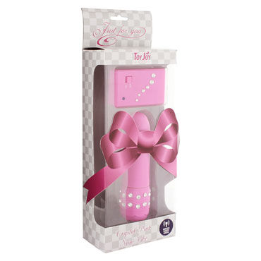 Toy Joy Crystal Mini Vibe, �������, ���� �������� �� ������������� ����������