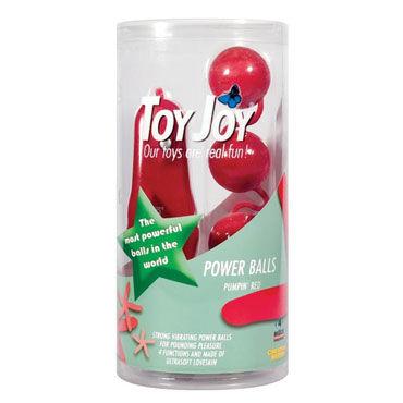 Toy Joy Power Balls, розовые Вагинальные шарики с вибрацией