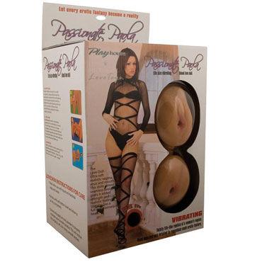 PlayHouse Passionate Paola Вибрирующая секс-кукла с мягкими любовными дырочками