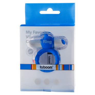 Taboom My Favorite Couples Ring, синее Эрекционное виброкольцо