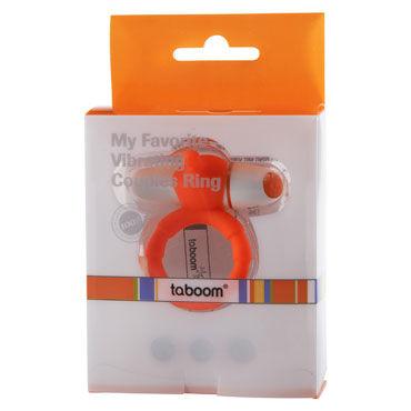 Taboom My Favorite Couples Ring, оранжевое Эрекционное виброкольцо
