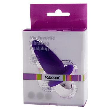 Taboom My Favorite Vibrating Analplug, фиолетовый Анальный вибростимулятор