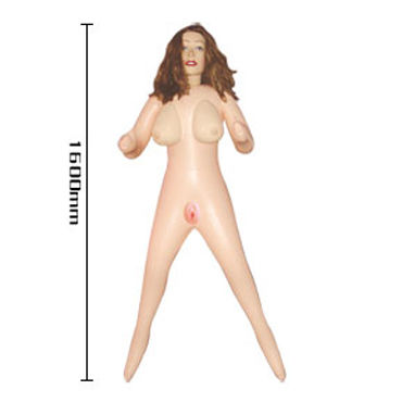 Baile Finish Girl, блондинка Секс-кукла с двумя любовными дырочками