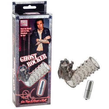 California Exotic Phil Varone Ghost Rocker Вибронасадка с клиторальным стимулятором