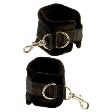 California Exotic Plushy Gear Wrist Cuffs Мягкие наручники