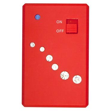 Toy Joy Crystal G-Spot Vibe, красный Массажер для стимуляции точки G