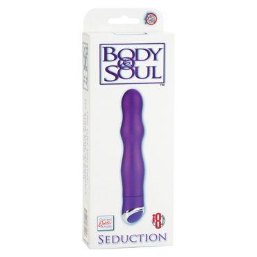 California Exotic Body & Soul Seduction, фиолетовый Вибратор рельефной формы