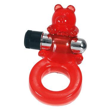 Seven Creations Jelly Bear Виброкольцо со стимуляцией клитора