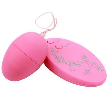 Chisa виброяйцо, розовое С пультом управления