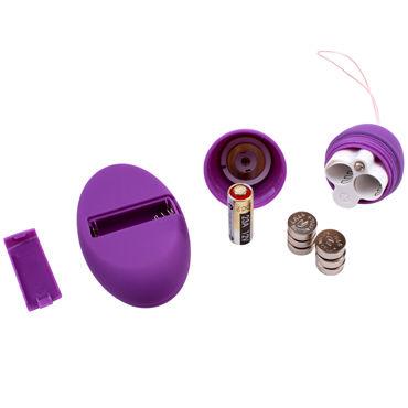 Chisa вибройяцо, фиолетовое С пультом управления