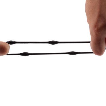 Chisa Beaded Cockrings, черный Набор из трех эрекционных колец
