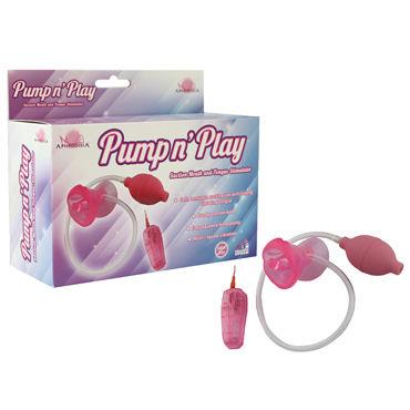 Howells Suction Mouth Pump, розовый Помпа с нежной вибрацией