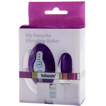 Taboom My Favorite Bullet Purple Вибропуля с пультом управления