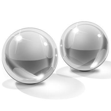Pipedream Icicles Ben-Wa Balls, 3см Стеклянные вагинальные шарики