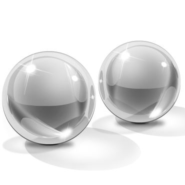 Pipedream Icicles Ben-Wa Balls, 2,5см Стеклянные вагинальные шарики
