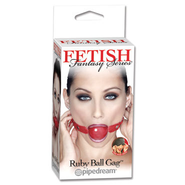 Pipedream Fetish Fantasy Ruby Ball Gag, ���� �� ������������ ��������