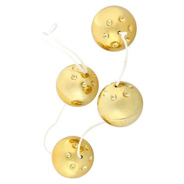 Seven Creations Gold Vibro Balls, ������ ������� ������