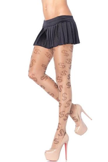 Leg Avenue Dollar Nude С принтом ''доллары''