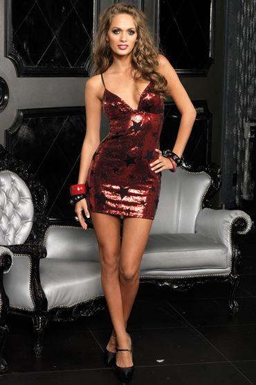 Leg Avenue Star Платье с узором в виде звездочек