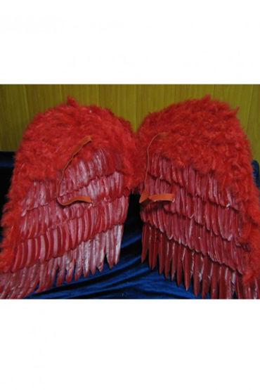Le Frivole крылья, красные Большие, 80х80 см
