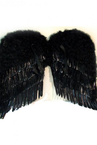 Le Frivole крылья, черные Большие, 80х80 см