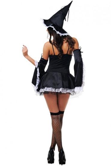 Le Frivole Волшебная ведьмочка Кокетливое мини-платье с аксессуарами