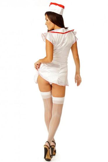 Le Frivole Медсестра Эротичный халат и головной убор