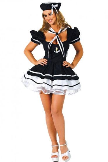 Le Frivole Мичман, Кокетливое платье, воротник и шапочка - Размер S-M