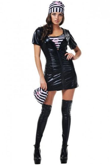 Le Frivole Преступница, Топ, платье, шапочка и мешок - Размер S-M от condom-shop.ru