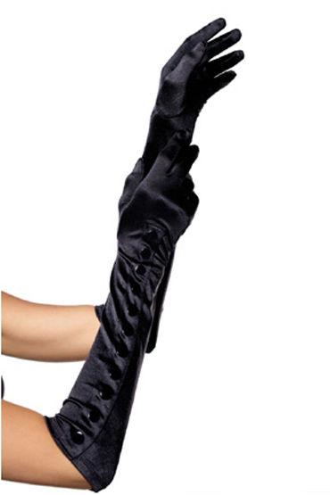 Leg Avenue Satin Button Gloves Атласные перчатки