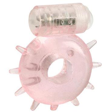 California Exotic Power Ring, розовое Эрекционное виброкольцо