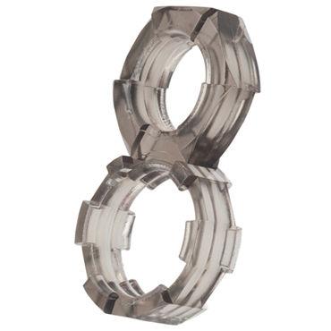 California Exotic Screw Me Figure 8 Ring Эрекционное кольцо в форме гайки