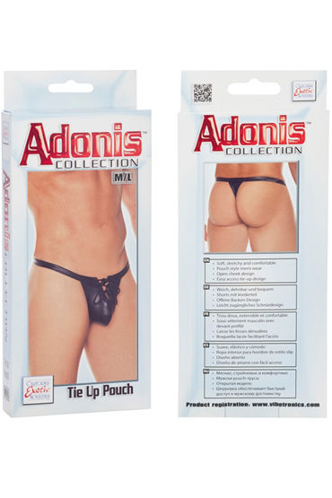 California Exotic Adonis Tie Up Pouch Мужские трусы-стринги