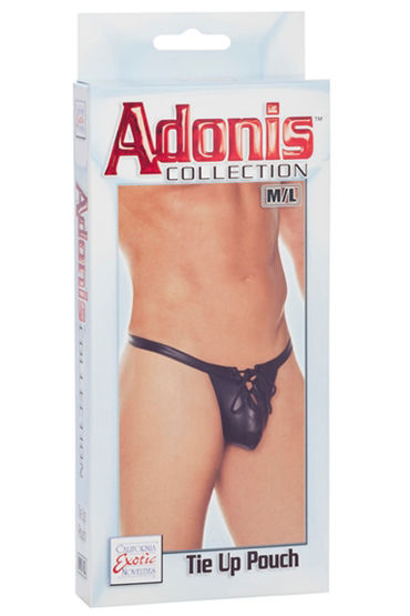 California Exotic Adonis Tie Up Pouch, ������� �����-������� - ������ M/L