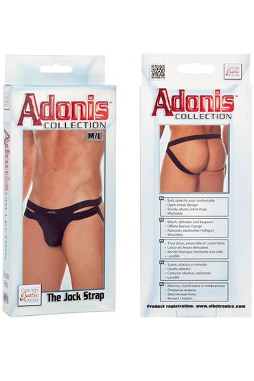 California Exotic Adonis The Jock Strap Мужские трусы, с открытыми ягодицами