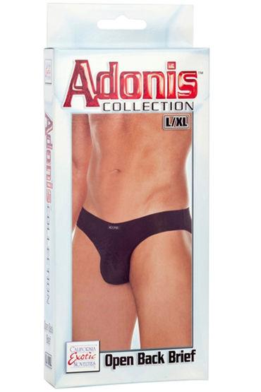 California Exotic Adonis Open Back Brief, Мужские трусы, с открытыми ягодицами - Размер L/XL