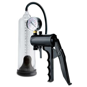 Pipedream Pump Worx Max-Precision Power Pump Мужская помпа с монометром