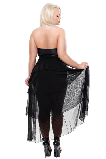 Pipedream The Bella Gown Платье, чулки и стринги