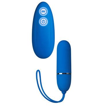 California Exotic Posh 7-Function Lovers Remotes, синее Водонепроницаемое виброяйцо