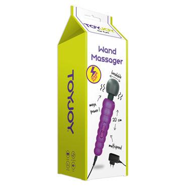 Toy Joy Power Massager, фиолетовый Мощный вибромассажер с гибкой головкой