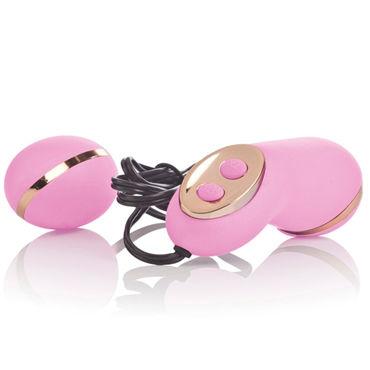 California Exotic Entince Ella, розовый Стильное виброяйцо с пультом управления