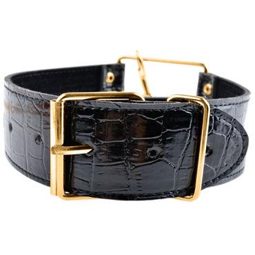 Pipedream Gold Collar&Leash Стильный ошейник с поводком