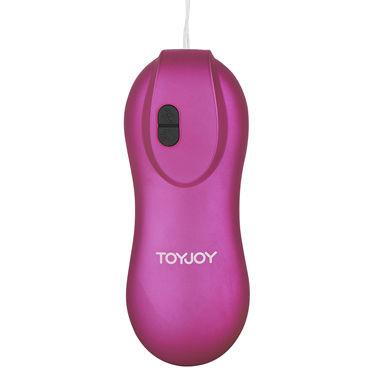 Toy Joy Gyrating Bullet, розовый Виброяйцо с пультом управления