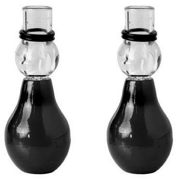 Pipedream Nipple Erector Set, черный Стимуляторы с присосками на грудь