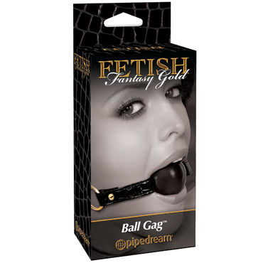 Pipedream Gold Ball Gag, ������������ ���� � �������