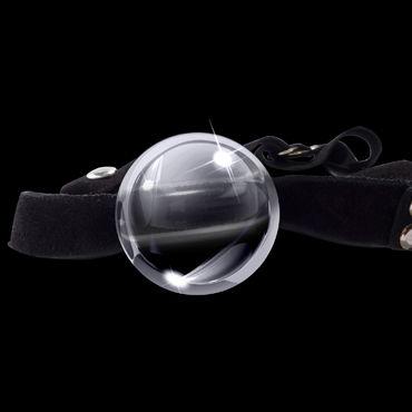 Pipedream Icicles № 65 Кляп с прозрачным стеклянным шариком