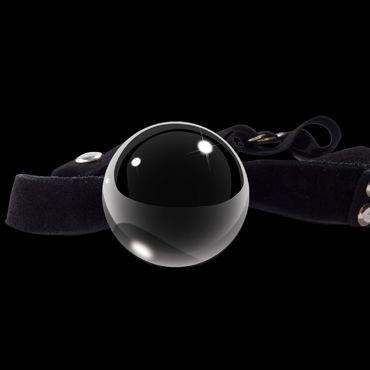 Pipedream Icicles № 65 Кляп с черным стеклянным шариком