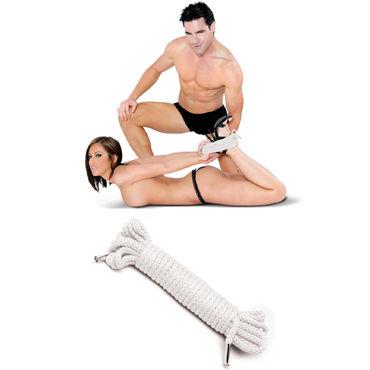 Pipedream Japanese Silk Rope, белый Веревка для связывания