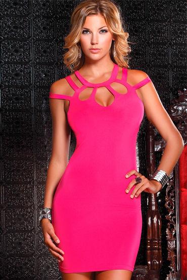 Forplay Lingerie мини-платье, розовое С оригинальными бретельками